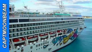 Norwegian Encounter, NCL Jewel and Sky Dock in Nassau
