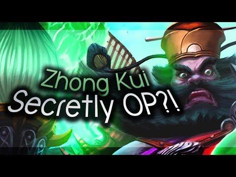 Smite - STOP SLEEPING ON ZHONG KUI - Masters Ranked Duel