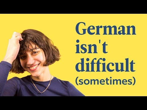 Is German Easy? | German Cognates | German In 60 Seconds