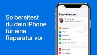 So bereitest du dein iPhone für eine Reparatur vor– AppleSupport