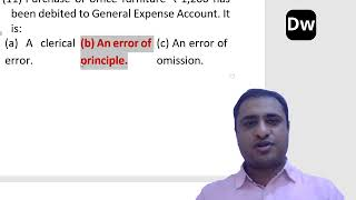 Lecture 3 - Rectification of Errors - Part 3 - CA Foundation - Accounts