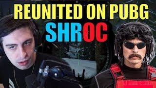 SHROUD + DrDisrespect ▪ BACK On PUBG Duos 【BattleGrounds】