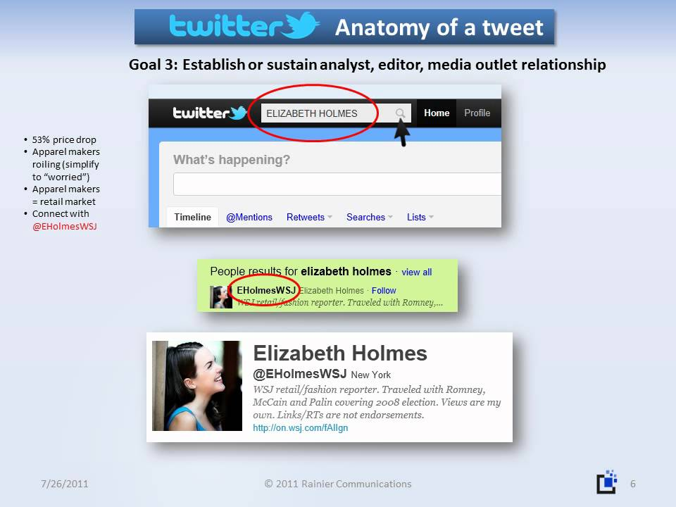 Anatomy Of A Tweet How To Use Twitter For Business Youtube