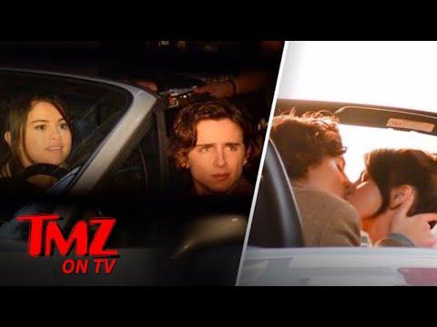 Selena Gomez Makes Out On Set   TMZ TV