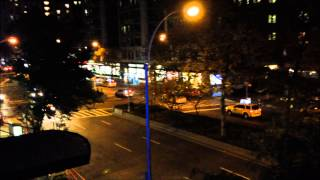 NYPD UNMARKED UNIT RESPONDING & SEARCHING FOR SOMEONE AT W. 75TH ST. ON WEST SIDE OF NEW YORK CITY.