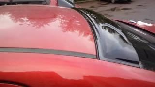 видео Козырек из стекла