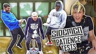 SIDEMEN FUNNIEST PATIENCE TEST MOMENTS!