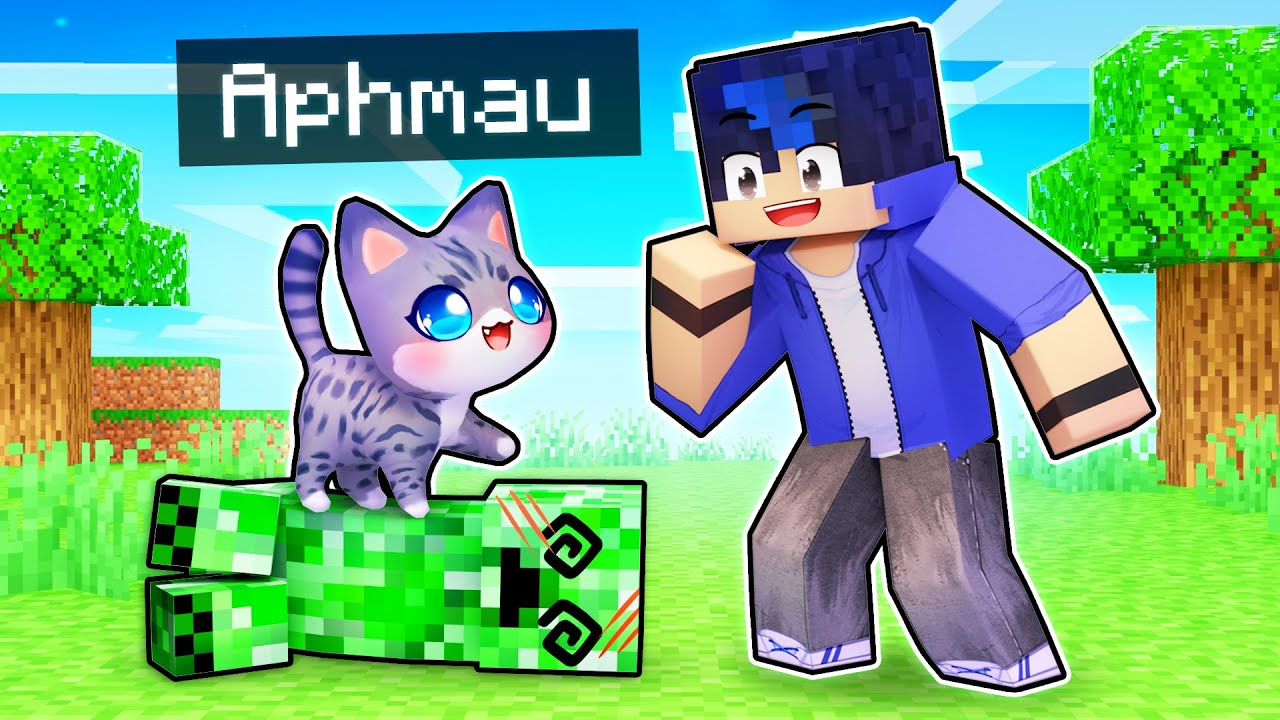 Minecraft But We Play As HELPFUL KITTENS!