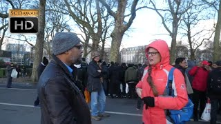 P2 What is Forgiveness Hashim vs Christian l Speakers Corner l Hyde Park