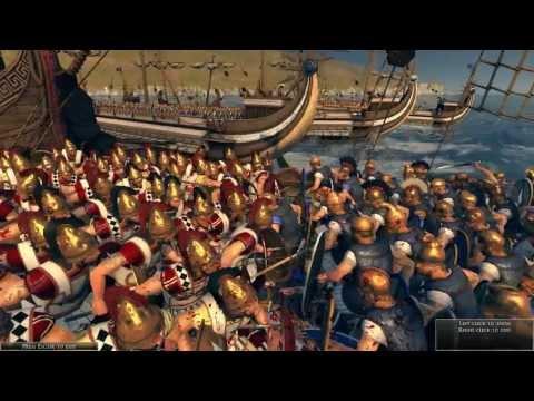 Total War: Rome 2 - Naval Battle w/ Blood DLC   Close View Combat [Full HD/1080p]  