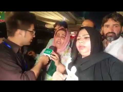 PMLN Lady fan crying in love with Nawaz Sharif  Angry after Panama