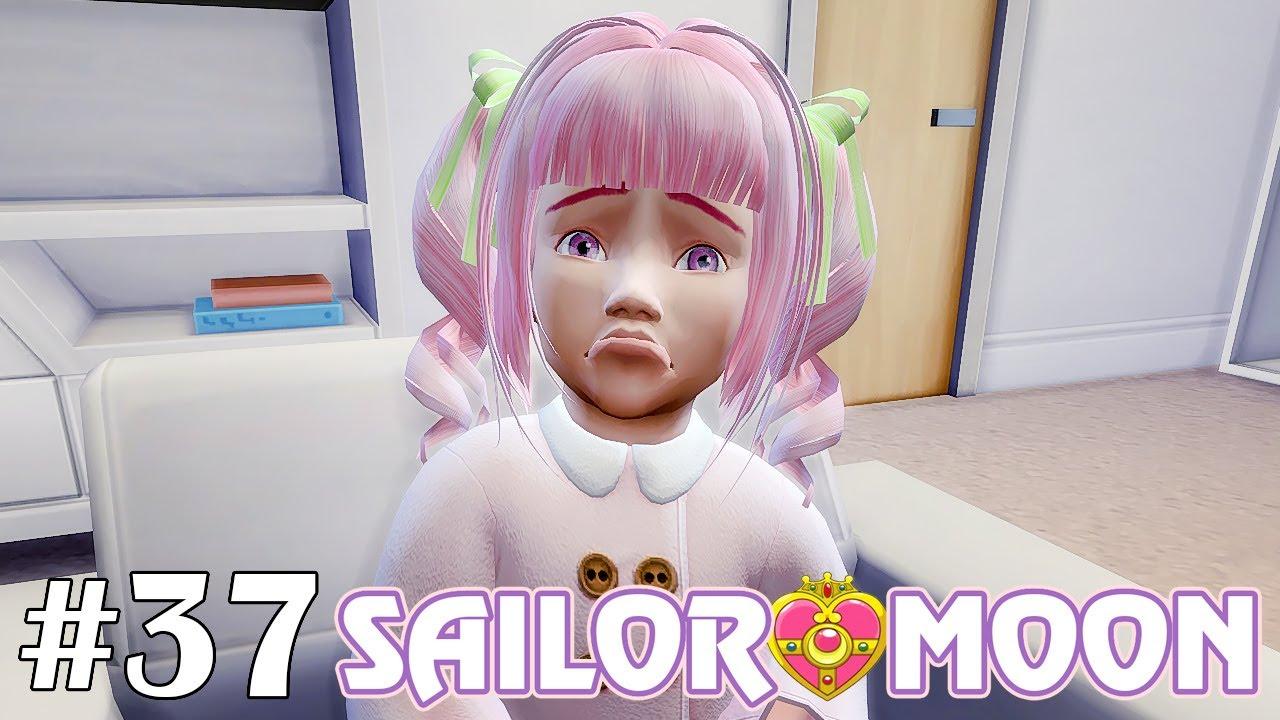 Не дали подарок ребёнку  - The Sims 4 - Sailor Moon #37