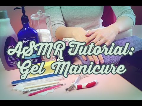 How to Do Gel Nails (ASMR softly spoken/whispering)