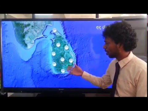 weather forecast for march 21, 2016 Sri Lanka