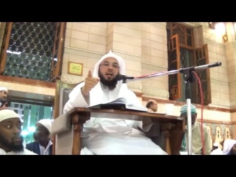 The Best Supplicaton on the Day of Arafah - Tahir Wyatt - Lecturer in the Masjid of the Prophet (ﷺ)
