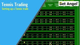 Betfair trading strategies - Setting up a Tennis trade