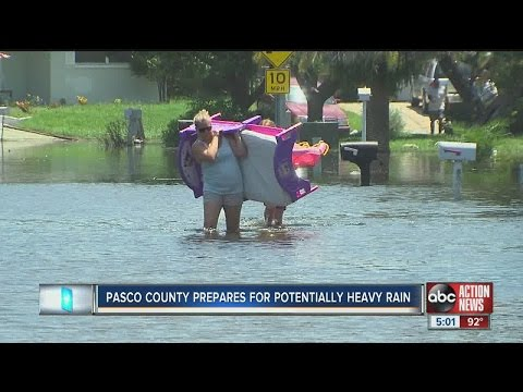 Pasco County prepares for potentially heavy rain