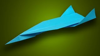 How to make a paper airplane that flies high in the sky