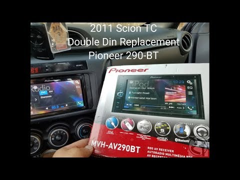 Step By Step: How To Install An Aftermarket Headunit In A 2011 Scion TC