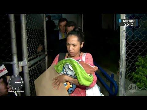 Mulher que foi presa com bebê recém-nascido ficará presa em casa | SBT Notícias (17/02/18)