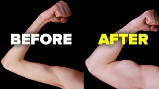 How I Got Bigger Biceps In 30 Days