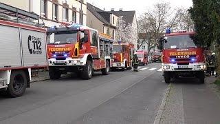 Freiwillige Feuerwehr Bochum im Einsatz bei Feuerwehrübung am 08.04.2017