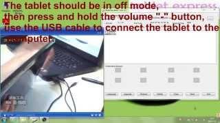 rockchip cpu firmware re installation system update