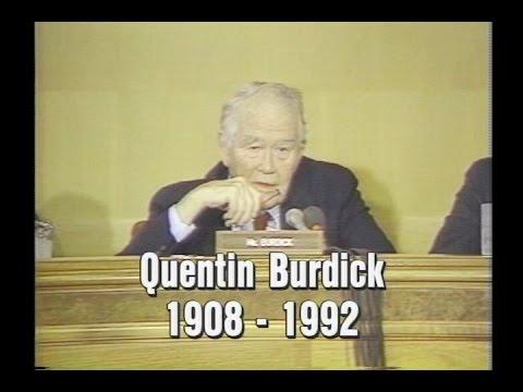 The Legacy Of Senator Quentin Burdick
