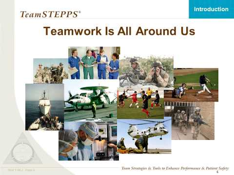 TeamSTEPPS Module 1 Introduction (External Link)