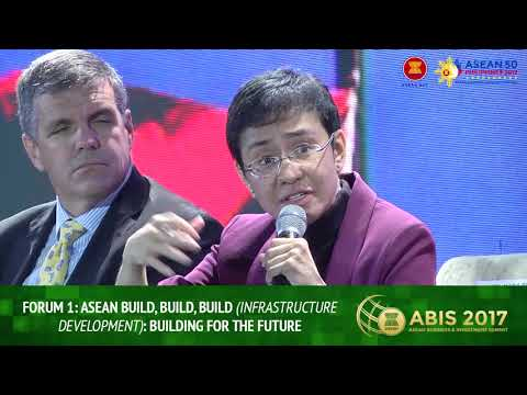 ASEAN Build, Build, Build (Infrastructure Development | Forum 1 | ABIS 2017