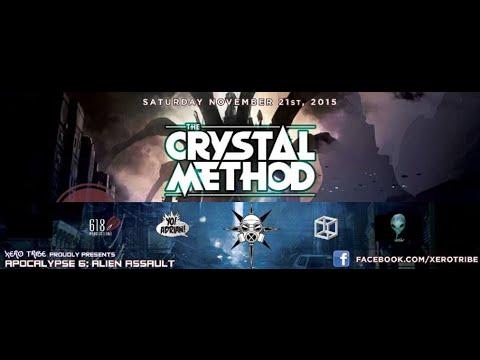 The Crystal Method - Live @ Apocalypse VI - Alien Assault (St.Louis, MO - 2015-11-21)