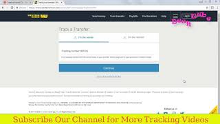 International Money transfer tracking | Western Union Money Tracking