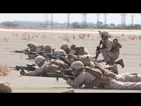 Miramar 2014 Air Show - Marine Air Ground Task Force