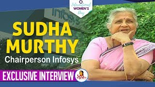 Exclusive Interview With Infosys Chairperson Padmasri Sudha Murthy | Women's Day Special