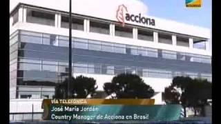 Business TV entrevista al Country Manager de ACCIONA en Bras