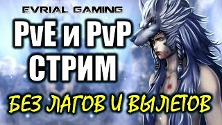 PvE и PvP Стрим MMORPG Blade and Soul #EvrialGaming