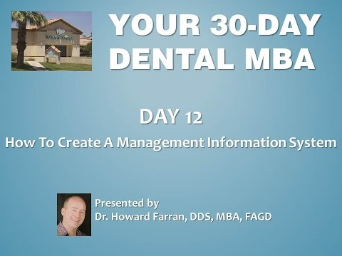Day 12: How To Create a Management Information System