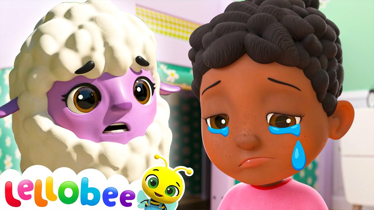 Mary Had a Little Lamb! | Lellobee Nursery Rhymes & Baby Songs | Learning Videos For Kids
