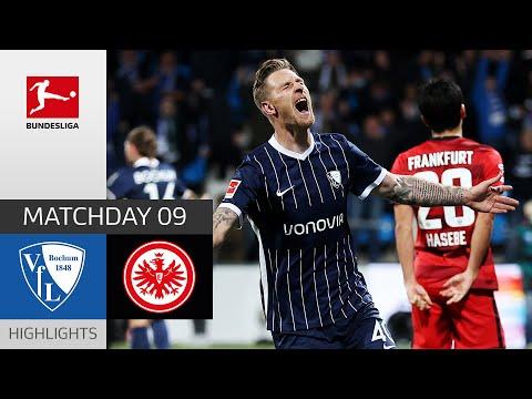 Bochum Eintracht  Frankfurt Goals And Highlights