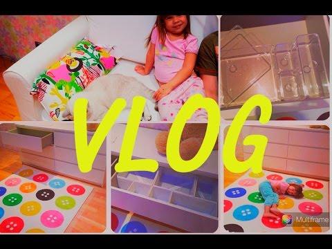ВЛОГ: Покупки мебели IKEA: Диван, комод, ковер и т.д., обустраиваем детскую!