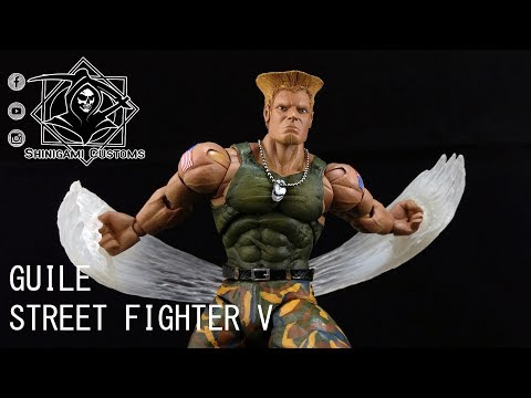 SC470 – Shinigami Customs Guile - Street Fighter V Storm Collectibles