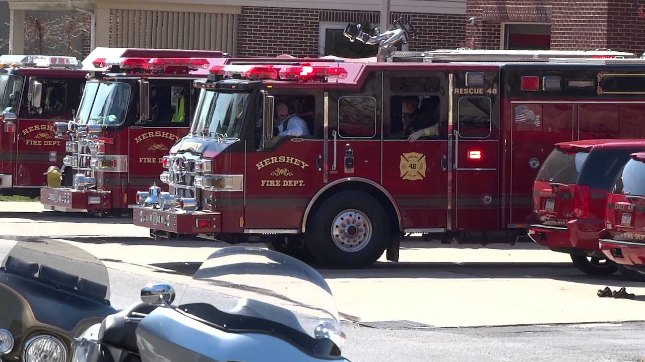 Hershey Fire Department Rescue Responding 2014 Youtube