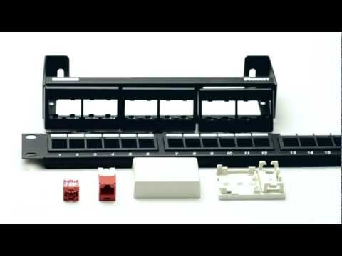 Panduits Cat5e MiniCom Jack Overview