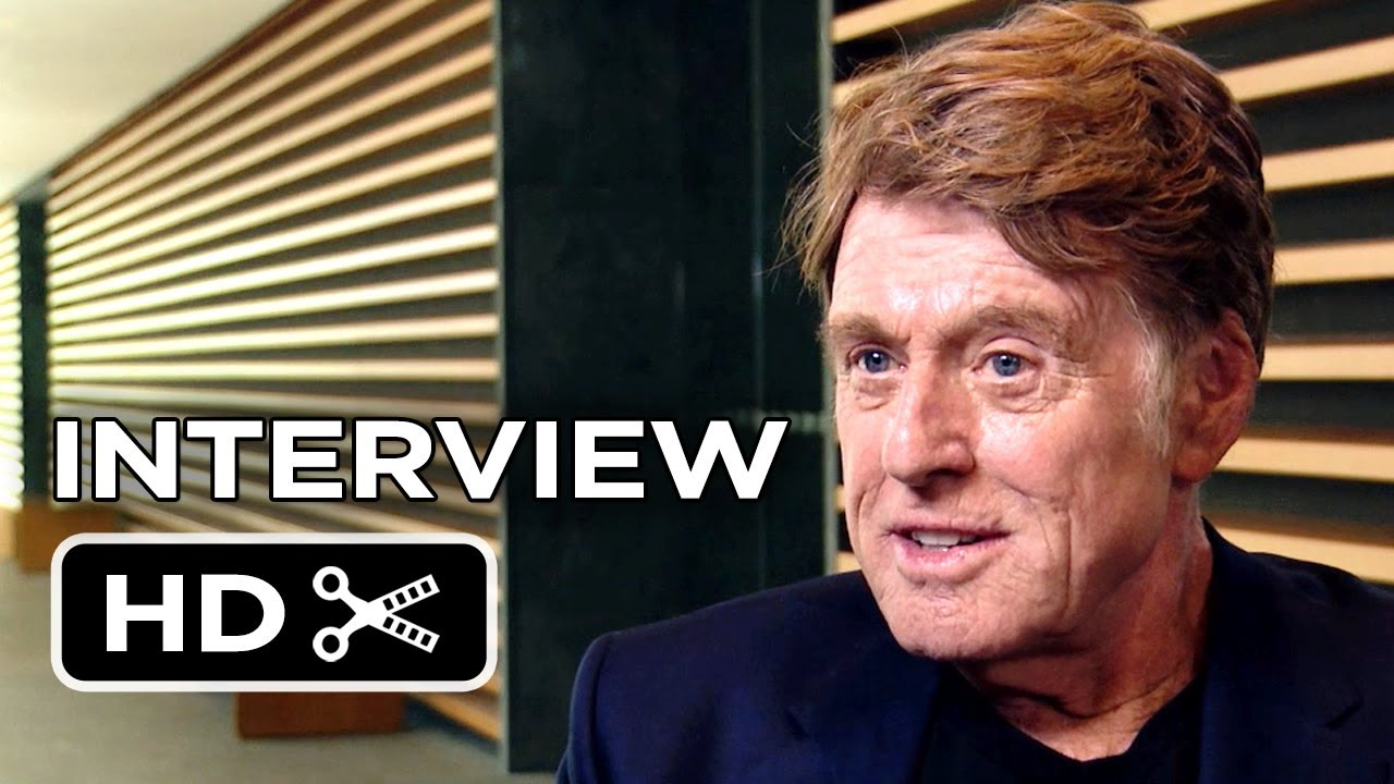 Captain America: The Winter Soldier Interview - Robert Redford (2014) - Marvel Movie HD