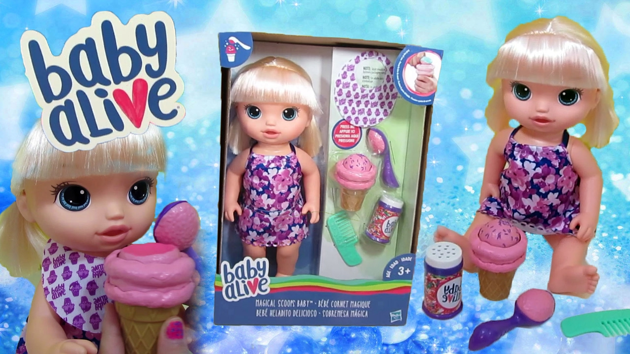 Brand New 2017 Baby Alive Magical Scoops Baby Alive So