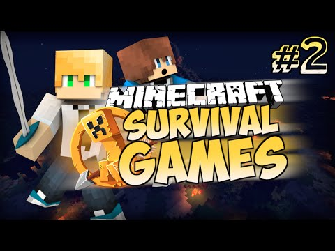 "Minecraft Survival Games – Game 2: ""Hunger Games Horror"""