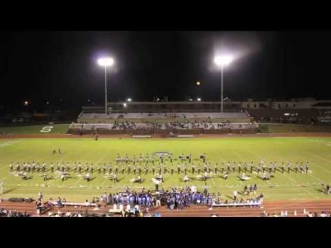 Statesboro High School MBD Half-time show Oct. 9, 2014