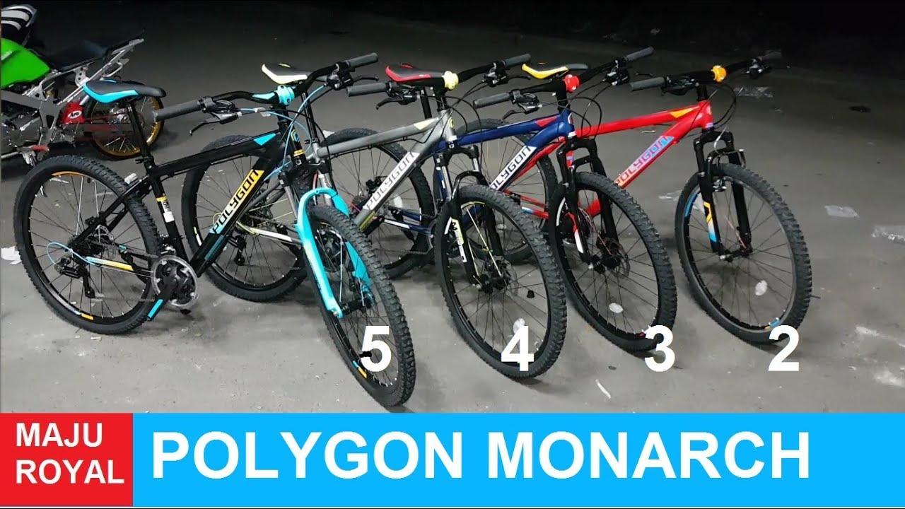 Toko Sepeda Majuroyal Review Polygon Monarch 5 4 3 2