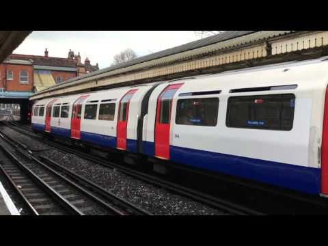 London Underground - Piccadilly line MetroCammel 1973 Stock at Barons Court station