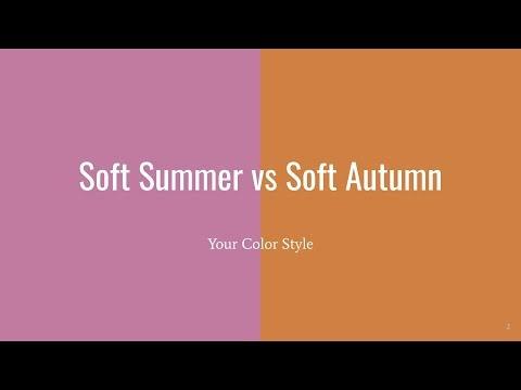 Soft Summer Vs Soft Autumn - Your Color Style